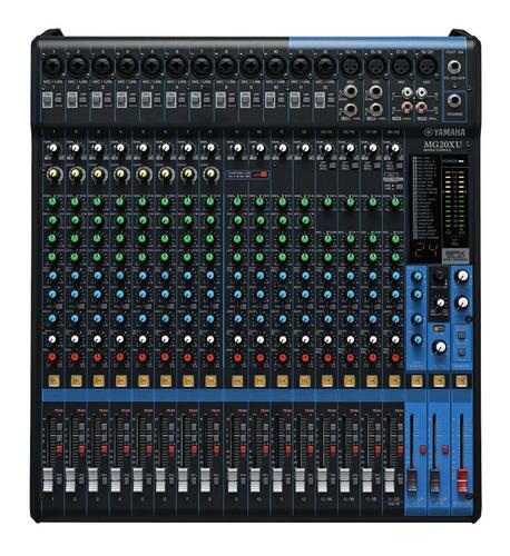 Consola De Audio Yamaha Mg20xu. Usb, Efectos, 20 Canales! - $ 2.900.000 en Mercado Libre