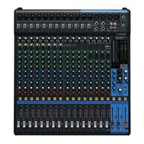 Consola De Audio Yamaha Mg20xu. Usb, Efectos, 20 Canales!