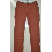 Pantalón Para Mujer Color Ladrillo Osaina Basic 32