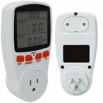 Medidor De Corriente Wattmetro Calcula Costo Energia 1142