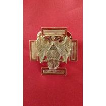 Joya Masonica Grado 30 Metal Dorado