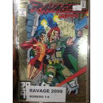 Marvel Comics - Ravage 2099 1-6 Universo Alterno Spider-man
