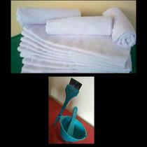 Kit 20 Toalhas Brancas Para Salão De Beleza + Combuca