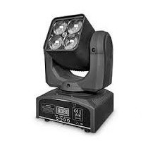 Cabezal Móvil E-lighting Zoom-x415 4 Leds X 15w Rgbw 4 En1