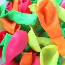 Kit 2 Pacote Bexiga Citrica Nº7 Com 30 Un+100 Pulseiras Neon