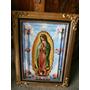 Cuadro Virgen De Guadalupe En Resina Alto Relieve Y Óleo