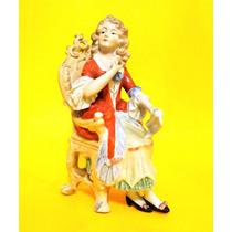 Figura De Porcelana Alemana Art 625
