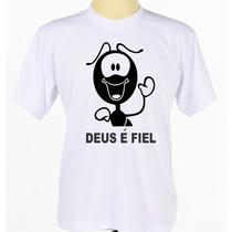 Camisa Camiseta Estampada Personalizada Gospel Evangélica