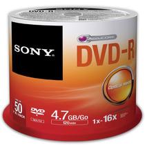 Torres De 50pzas De Dvd-r Sony, Nuevos Y Sellados