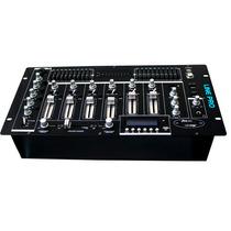 Mixer Mezcladora Dj Pro 4ch Montable En Rack