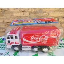 Camion De Reparto De Coca Cola Apex Toy Made In Thailand