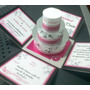 Tarjeta Invitación Con Torta Pastel 3d Boda 15 Años Infantil