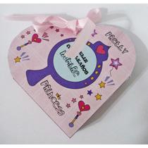 Souvenir Infantil Nena Caja Corazón Princesa Cumpleaños!