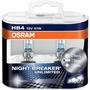 Lamparas Night Breaker Unlimited Hb4 H1 H7 + Led 5w5 Osram