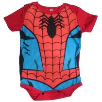 Body Mameluco Niños Bebé Spiderman Avengers Nighty-night