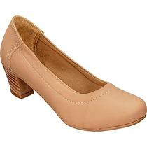Sapato Social Salto Quadrado