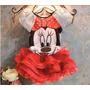 Conjunto Fantasia Infantil Princesa Minnie Disney Crianças