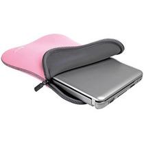 Capa Leadership Notebook Até 12 13 Pol Dupla Face Cinza/rosa