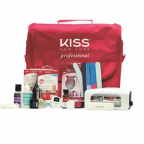 Kit Gel E Acrygel First Kiss Com Cabine Led + Apostila Curso