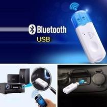 Receptor Bluetooth Usb Estereo Bocina Autoestereo Inalambric