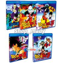 Coleccion 5 Peliculas Dragon Ball Blu-ray Español Latino