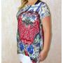 Roupas Femininas Blusa Camiseta Feminina Estampada Malha