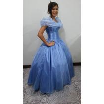 Fantasia Cinderela 2 (vestido Longo - Do Novo Filme) Adulto