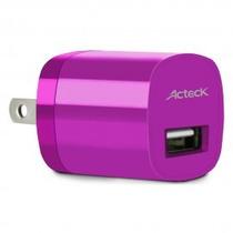 Acteck Cargador De Pared 1a Smarthphone Tablet Cd002 Rosa