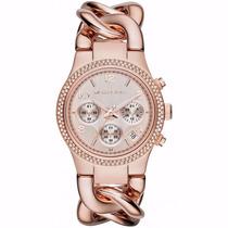 Relógio Feminino Michael Kors Rose Mk3247 Promoção!
