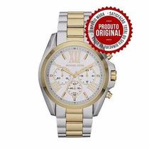 Relógio Michael Kors Mk5627 Original Top !! Misto Branco