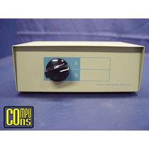 Manual Data Switch 1 Computadora 2 Impresoras