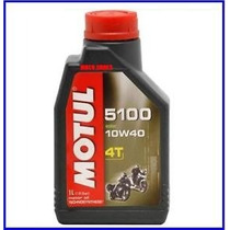Aceite 15w50 Motul 5100 De 1 Litro Para Motos 4t
