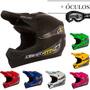 Capacete Cross Trilha Pro Tork Liberty Mx + Oculos Brinde