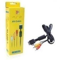 Cable Audio Video Playstation 2 En Caja--cotizacion X Mayor