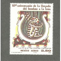 10 Aniv. Llegada Del Hombre A La Luna Códice Prehispanico