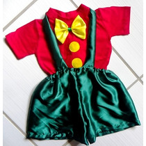 Jojo Baby - Fantasia Palhacinho Bebê Palhaço Patatá