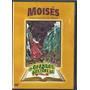 Dvd Desenho Grandes Historias Da Biblia: Moises