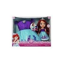 Juguete Disney Princess Toddler Ariel Y Vestido A Juego De
