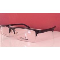 Armação Óculos Esportivo Curvado Em Alumínio P/ Grau