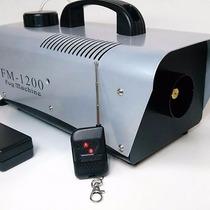 Maquina De Humo 1200w Reales Fog Machine Control Remoto...