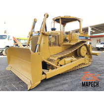 Bulldozer Caterpillar D6h Con Ripper 1990