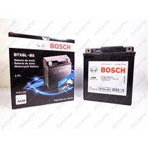 Bateria Bosch Gel Btx6l Twister Cb300 Fazer Falcon Bros Esd