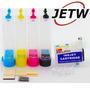 Bulk-ink Tx125 T25 Tx123 Tx133 Tx135 C/mangueira Chip Reset