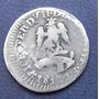 Moneda Mexico Congreso Nacional 1/2 Real 1813