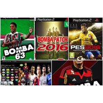 Patche Kit Game 4bomba Patch Futebol 1pes2016 (play2)