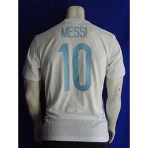 Playera De Argentina No. 10 Messi