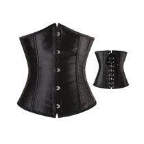 Corset,espartilho,corselet,corpete Luxo 2 Barbatanas De Aço