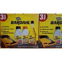 Bardahl 3 Pack, Liquido Para Frenos, Direccion Hidraulica