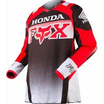 Camisa Fox 180 Honda Tam Xl
