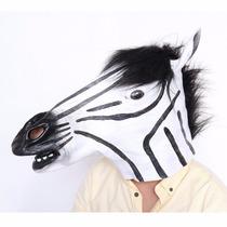 Disfraz Sourcingbay Horror Scary Zebra Horse Head Mask